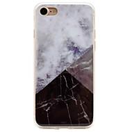 Kompatibilitás iPhone 8 iPhone 8 Plus iPhone 7 iPhone 6 iPhone 5 tok tokok IMD Hátlap Case Márvány Puha Hőre lágyuló poliuretán mert Apple
