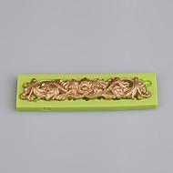 Χαμηλού Κόστους -Εργαλεία ψησίματος Silica Gel / Σιλικόνη Φιλικό προς το περιβάλλον / Αντικολλητικό / Λαβές Κέικ / Μπισκότα / Cupcake Εργαλείο ζαχαροπλαστικής 1pc