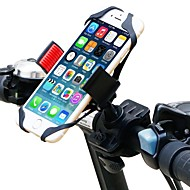 abordables Accesorios para Ciclismo y Bicicleta-Montura de Teléfono para Bicicleta Ajustable, GPS, Vuelo invertido de 360 grados Ciclismo / Bicicleta El plastico Negro / Rojo - 1 pcs