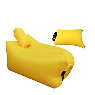 Bolsa de dormir Sofá Inflable Impermeable Portátil Plegable Descanso en Viaje Duradero Cómodo Inflado Para el Hogar Al Aire Libre Un Color
