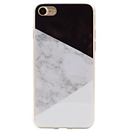 Para iPhone 8 iPhone 8 Plus iPhone 7 iPhone 6 Funda iPhone 5 Carcasa Funda IMD Cubierta Trasera Funda Mármol Suave TPU para Apple iPhone