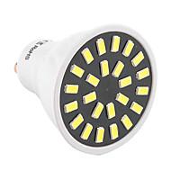 お買い得  LED スポットライト-YWXLIGHT® 400-500lm GU10 LEDスポットライト MR16 24 LEDビーズ SMD 5733 装飾用 温白色 クールホワイト 110-130V 220-240V