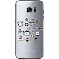 Недорогие Чехлы и кейсы для Galaxy S6 Edge Plus-Кейс для Назначение SSamsung Galaxy Samsung Galaxy S7 Edge С узором Кейс на заднюю панель Слова / выражения Мягкий ТПУ для S7 edge S7 S6