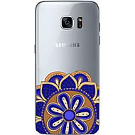 Недорогие Чехлы и кейсы для Galaxy S6 Edge Plus-Кейс для Назначение SSamsung Galaxy Samsung Galaxy S7 Edge С узором Кейс на заднюю панель Геометрический рисунок Мягкий ТПУ для S7 edge