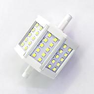 お買い得  LED コーン型電球-800lm R7S LEDコーン型電球 T 30LED LEDビーズ SMD 2835 装飾用 温白色 / クールホワイト 85-265V