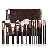 voordelige Make-upartikelen-bestseller 15pcs cosmetische zachte make-up borstel set blush poeder concealer foundation oogschaduw lip borstels sets