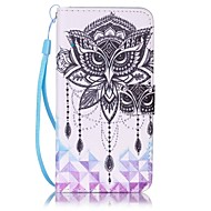 cheap Cases / Covers for Samsung-Case For Samsung Galaxy J7(2016) J5(2016) Card Holder Wallet Full Body Cases Owl Hard PU Leather for J7 (2016) J5 (2016) J5 J3 (2016) J3