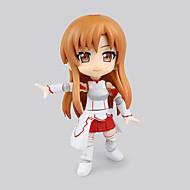 billige Cosplay og kostumer-Anime Actionfigurer Inspireret af Sword Art Online Asuna Yuuki PVC 16 CM Model Legetøj Dukke Legetøj