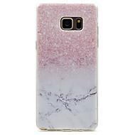 preiswerte Handyhüllen-Hülle Für Samsung Galaxy Transparent Muster Rückseite Farbverläufe Weich TPU für Note 7 Note 5