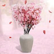 abordables Decoraciones de Boda-Flores Artificiales 1 Rama Estilo Simple Sakura Flor de Mesa