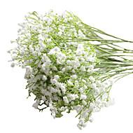 6pcs/Set 6 Tak PU Gipskruid Bloemen voor op tafel Kunstbloemen 23 inch