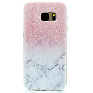 For Mønster Etui Bagcover Etui Marmor Blødt TPU for Samsung S7 edge S7 S5 Mini S5