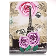 For Samsung Galaxy Tab E 9.6 Wallet Eiffel Tower PU Leather Hard Case Cover  Tab A 9.7 Tab A 10.1 (2016) T580N