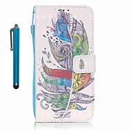 Для Кошелек / Бумажник для карт / со стендом Кейс для Чехол Кейс для Перо Твердый Искусственная кожа SamsungS7 edge / S7 / S6 edge / S6 /