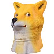 Halloween Masks Animal Mask Toys Shiba Inu Dog Head Rubber Horror Theme 1 Pieces Halloween Masquerade Gift