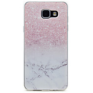 for Samsung Galaxy A310 A510 Pink Marble Pattern TPU High Purity Translucent Openwork Soft Phone Case