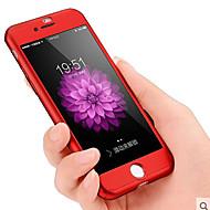 Недорогие Кейсы для iPhone 8 Plus-Кейс для Назначение Apple iPhone 8 / iPhone 8 Plus / iPhone 7 Защита от удара / Защита от пыли Чехол Однотонный Твердый ПК для iPhone 8 Pluss / iPhone 8 / iPhone 7 Plus