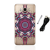 voordelige Galaxy J5 Hoesjes / covers-hoesje Voor Samsung Galaxy J5 (2016) J3 (2016) Doorzichtig Patroon Achterkantje Mandala Zacht TPU voor J5 (2016) J5 J3 (2016) J3 J1
