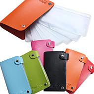 Χαμηλού Κόστους -ορθογώνια πλάκα χάλυβα τσάντα πακέτο κάρτα που περιέχει 24 μανικιούρ κάρτα πρότυπο πλάκα