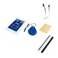 mfrc-522 rc522 rfid RF IC card induktiv modul med gratis S50 Fudan kort&nøglering og tilbehør til Arduino