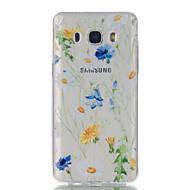 Для samsung galaxy j7 j5 хризантема образец высокая проницаемость tpu материал корпус телефона