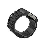 Недорогие Аксессуары для смарт-часов-Ремешок для часов для Fitbit Charge 2 Fitbit Классическая застежка Нержавеющая сталь / силиконовый Повязка на запястье