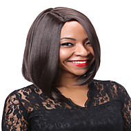 AISI HAIR Žene Sintetičke perike Ravan kroj Chestnut Brown Plava Prirodna perika Perika za maskembal