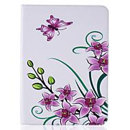 для Samsung Galaxy Tab, T815 T715 Дело PU кожаный материала бабочки рельефным рисунком пластины наборы T580 T560 T550 T280 t377 t350