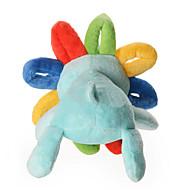 Koiran lelu Lemmikkieläinten lelut Plush-lelu Kitistä Multicolor Puuvilla