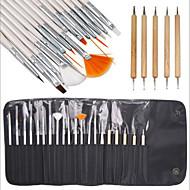 abordables Maquillaje y manicura-20 La artesanía de madera Kit Clásico Moderno Kit de taladro para arte de uñas Cepillos de uñas Clásico Moderno