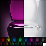 1pc Φως τουαλέτας Πολυλειτουργία / Φιλικό προς το περιβάλλον / Δώρο Μπουτίκ / Διακοσμητικό LED Σποτάκια / φως Αξεσουάρ