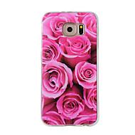 preiswerte Handyhüllen-Hülle Für Samsung Galaxy Muster Rückseite Blume Weich TPU für Note 5 / Note 4 / Note 3