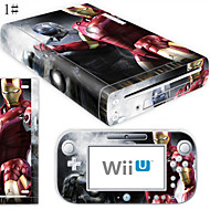 cheap -B-SKIN Audio and Video Sticker For Wii U / Nintendo Wii U ,  Novelty Sticker PVC(PolyVinyl Chloride) / Rubber unit