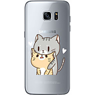 Cat Lovers Soft Material For Compatibility TPU For Samsung Galaxy S6 Edge Plus S6 S7 Edge S7