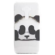 For ASUS Zenfone 3 ZE552KL Zenfone 3 ZE520KL Case Cover Panda Pattern High Permeability Painting TPU Material Phone Case