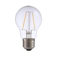 お買い得  -GMY® 1個 2 W 200 lm フィラメントタイプLED電球 A17 2 LEDビーズ COB 調光可能 温白色 110-130 V / 1個