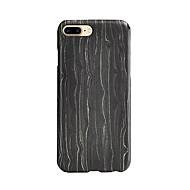 Недорогие Модные популярные товары-Для Защита от удара Кейс для Задняя крышка Кейс для Полосы / волосы Твердый Дерево для AppleiPhone 7 Plus / iPhone 7 / iPhone 6s Plus/6