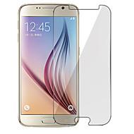 מגן מסך ל Samsung Galaxy S7 / S6 / S5 זכוכית מחוסמת מגן מסך קדמי נוגד טביעות אצבעות