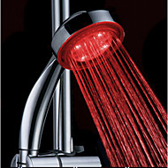 Water Powered Color Changing  ABS LED Hand Shower High Quality