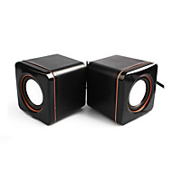 D02A  Hot Computer Mini Speaker Stereo Portable Notebook Desktop Laptop USB Speakers