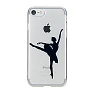 Para Diseños Funda Cubierta Trasera Funda Chica Sexy Suave TPU para AppleiPhone 7 Plus / iPhone 7 / iPhone 6s Plus/6 Plus / iPhone 6s/6 /