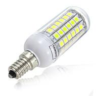 5W E14 LED Corn Lights T 69LED SMD 5730 500-600lm Warm White Cold White 3000K/6500K Decorative AC 220-240V