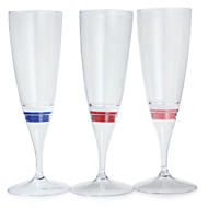 1個のカラーミックスは、シャンパングラスカップゴブレットパーティー/結婚式/パーティー/ KTV /ホーム/バーのための夜の光を主導主導しました