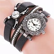 voordelige Bohémien horloges-Dames Dress horloge Modieus horloge Polshorloge Armbandhorloge Punk Kleurrijk Kwarts PU BandVintage Glitter Snoep Vlinder Bohémien