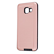 Samsung galaxy a5 (2016) a3 (2016) kotelo kattaa puhtaan värin pinnoitus pc-puhelimen kuori a5 a3: lle