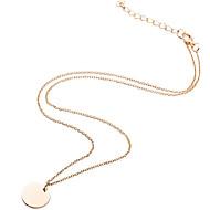 Недорогие $0.99 Модное ювелирное украшение-Жен. Ожерелья с подвесками - Уникальный дизайн, В виде подвески, Классический Серебряный, Золотой Ожерелье Бижутерия Назначение Повседневные