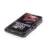 Недорогие Чехлы и кейсы для Galaxy A7(2017)-Кейс для Назначение SSamsung Galaxy A5(2017) A3(2017) Бумажник для карт Кошелек со стендом Кейс на заднюю панель Мультипликация Твердый