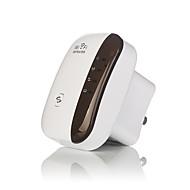 billiga Nätverk-trådlösa WiFi repeater signalförstärkare 802.11n / b / g Wi-fi intervall extander 300Mbps signal boosters repetidor wifi WPS-us