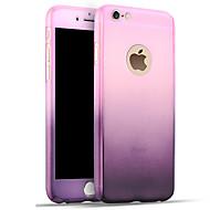 Недорогие Кейсы для iPhone 8 Plus-Кейс для Назначение Apple iPhone 8 iPhone 8 Plus iPhone 6 iPhone 7 Plus iPhone 7 Защита от удара Кейс на заднюю панель Градиент цвета