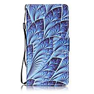 Для huawei p8 lite p9 чехол для случая синие цветы картина картина карта stent pu leather